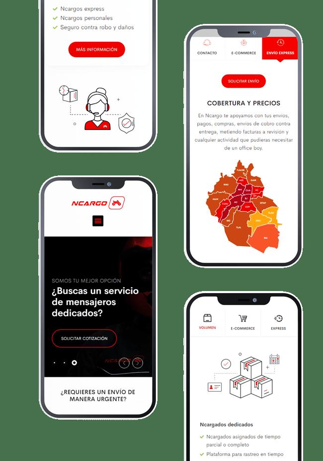 Diseño Web Ncargo