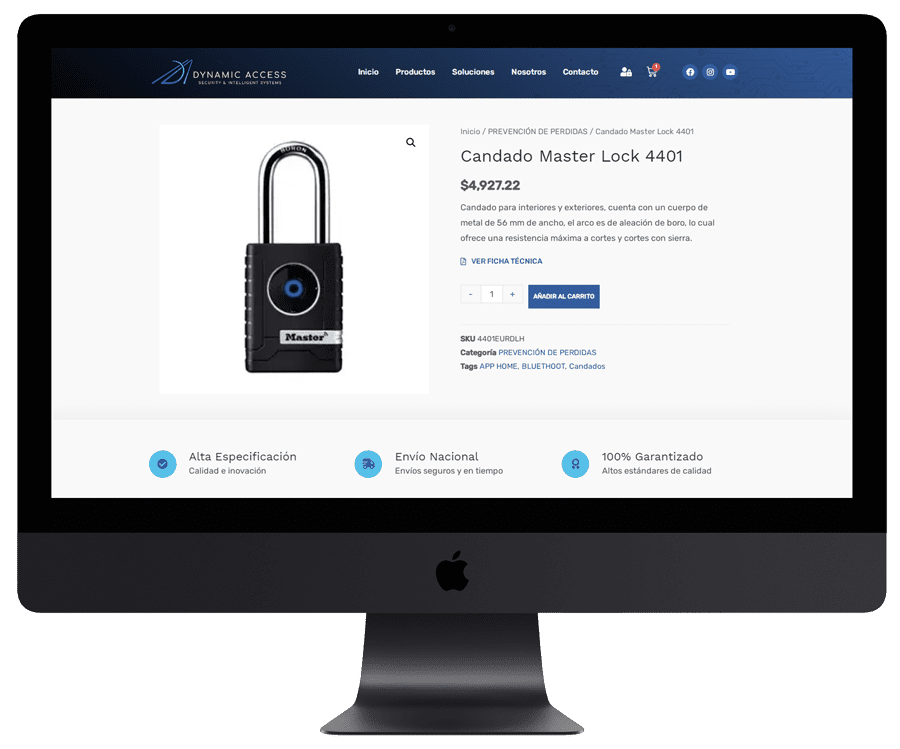 Diseño web ecommerce